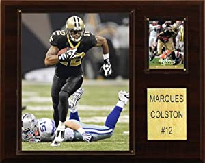 NFL Marques Colston New Orleans Saints Player Plaque by C&I Collectables