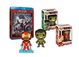 Image de Avengers: L'ère d'Ultron + figurine Hulk & Iron man [Exclusivité Amazon]