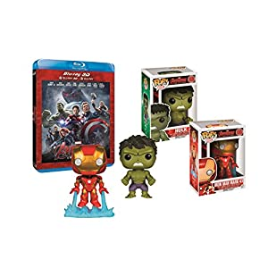 Avengers: L'ère d'Ultron + figurine Hulk & Iron man [Exclusivité Amazon]