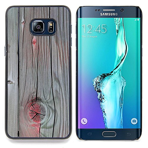 Accent Grey Wood Paint Cracked Custodia protettiva Progettato rigido in plastica King Case For Samsung Galaxy S6 Edge Plus