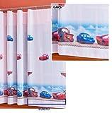 Disney voile net curtains Cars-width 189cm/74.4