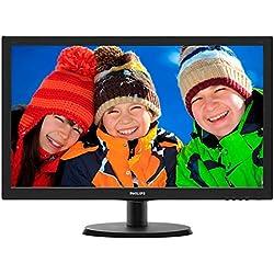 Philips 223V5LSB2/10 Monitor, Nero