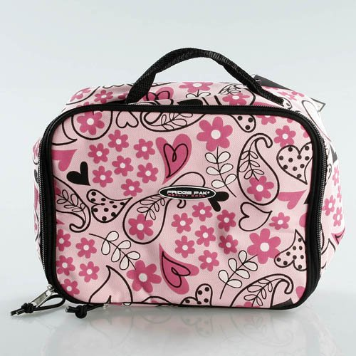FridgePak Floral Print Insulated Lunch Bag - 1