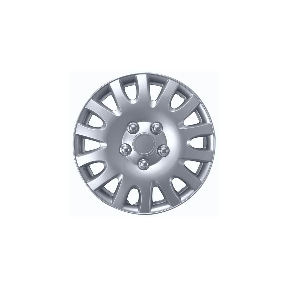 Drive Accessories KT 995 14S/L, Toyota Camry, 14 Silver Replica Wheel Cover, (Set of 4)