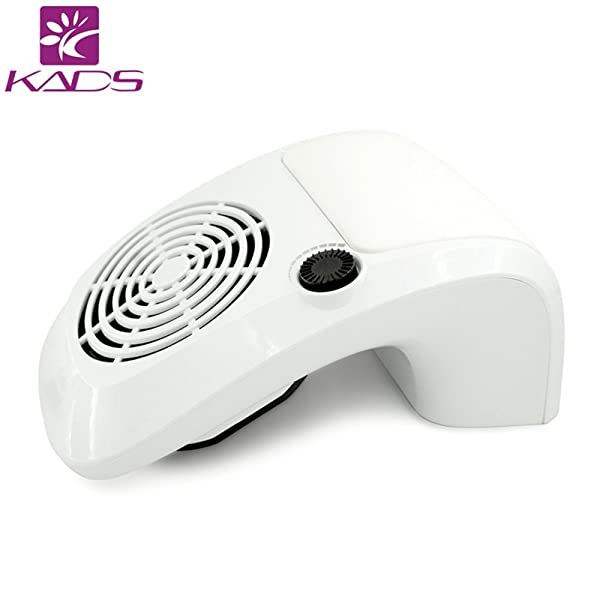 KADS Adjustable Nail Dust Collector Suction Fan with 2 Dust ...