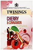 Twinings A Moment of Calm Cherry and Cinnamon 20 Teabags (Pack of 8,Total 160 Teabags)