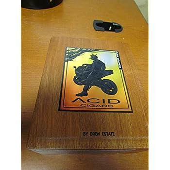 PREMIUM Wooden Empty Cigar Box - ACID BOX