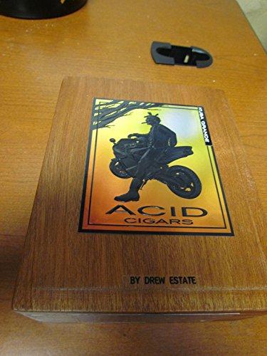 PREMIUM Wooden Empty Cigar Box - ACID BOX 1