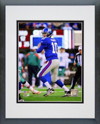 Eli Manning New York Giants - NFL Framed and Matted Photo