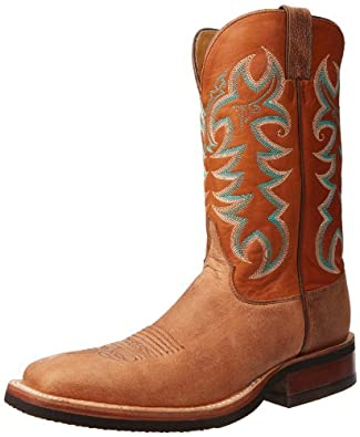 Buy Justin Boots Mens Aqha Q-Crepe Collection Boot by Justin Boots