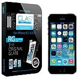 iPhone 5S Screen Protector, Spigen GLAS.t SLIM Premium Tempered Glass Screen Protector for iPhone 5/5S - 1 Pack - Retail Packaging (SGP10112)