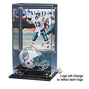 Indianapolis Colts Nfl Mini Helmet And 8X10 Picture Display Case by Caseworks