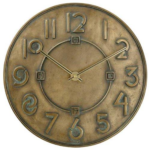 Bulova C3333-Exhibition Typeface Clock