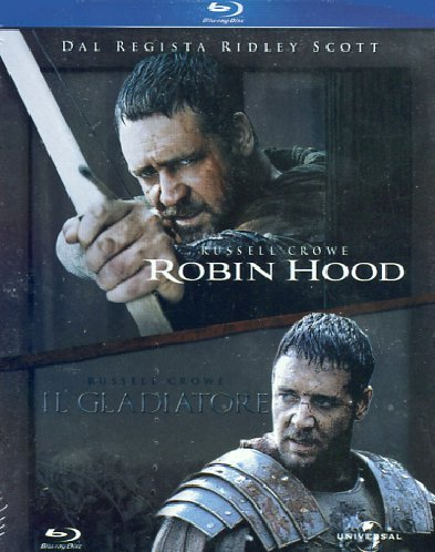 Robin Hood + Il gladiatore [Blu-ray] [IT Import]