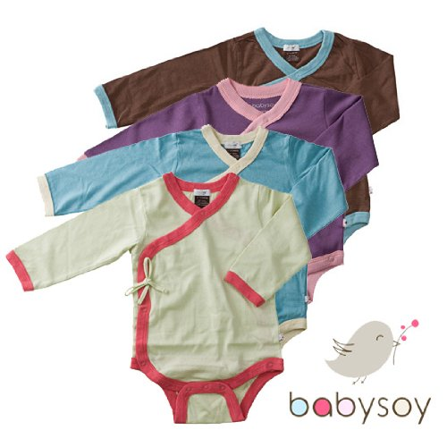 Babysoy Kimono Onesie