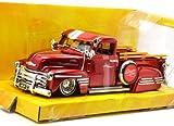 """Jada 1:24 BIGTIME KUSTOMS """"1951 CHEVY PICKUP"""" ジェイダ 1:24スケール ビッグタイムカスタムズ 「1951 シェビー ピックアップ」 トラック レッド"""