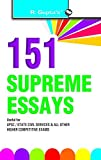 An Indispensable Book for UPSC/State Civil Services Exam and All Other Higher Competitive Examinations.Essays on National Issues Essays on International Issues Essays on Political and Legal Issues Essays on Economic Issues Essays on Social Is...