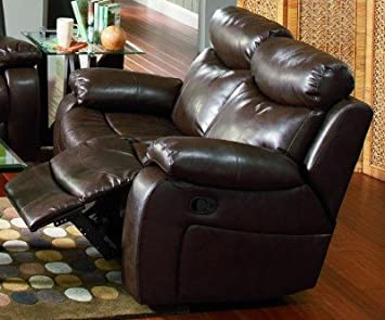 Coaster Home Furnishings 600562 Transitional Motion Loveseat, Brown