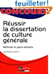 Russir la dissertation de culture g...
