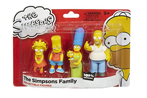 die-simpsons-familie-4er-figuren-pack-homer-marge-bart-und-lisa-uk-import