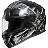 Shoei Diabolic Feud RF-1100 Street Bike Racing Motorcycle Helmet &#8211; TC-5 / Medium