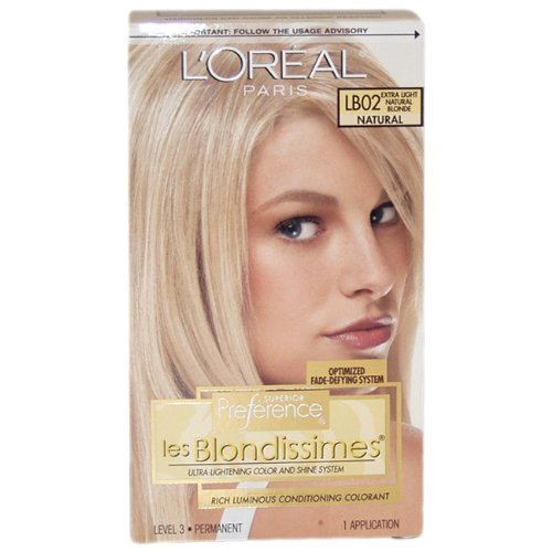 L'Oreal Paris Superior Preference Color Care System, Extra Light Natural Blonde LB-02