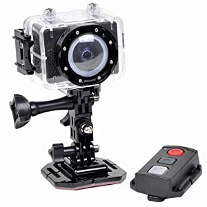 Astak Actionpro Cm-7200 5mp 1080p Hd Sports Action Waterproof Digital Camera/camcorder W/mini-hdmi & Microsd Slot