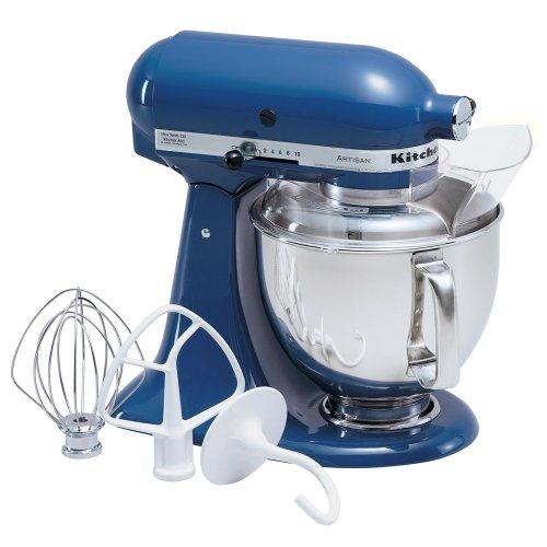 kitchenaid 5 quart artisan stand mixer. kitchenaid ksm150psbw artisan 5-quart blue willow stand mixer kitchenaid 5 quart