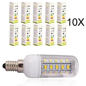 10X ELINKUME G9 7W Warm White 36LED SMD 5730 Corn Spot Lights Lamp ,AC 200-240V from ELINKUME