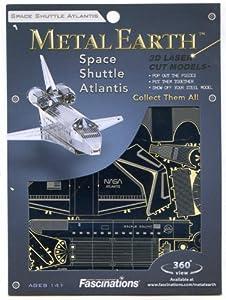 Fascinations MetalEarth 3D Laser Cut Model - Space Shuttle Atlantis