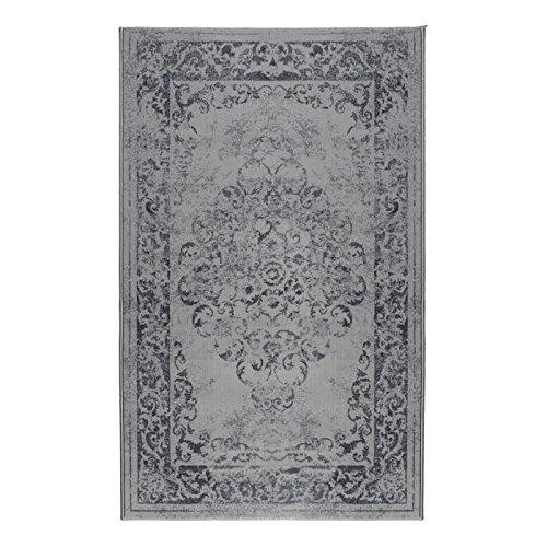 LUXUS Tapis de vintage 120x170 cm gris