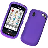 Purple Rubberized Protector Case for Pantech Hotshot CDM8992