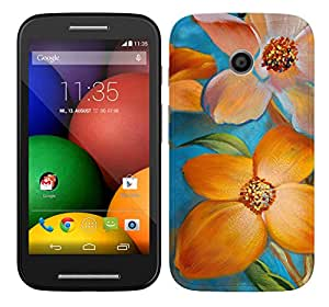 TrilMil Printed Designer Mobile Case Back Cover For Motorola Moto E (1st Gen)