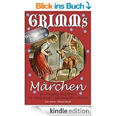 Grimms M�rchen. Reichhaltig illustriert (Weihnachts-Edition) (eBook-Version)