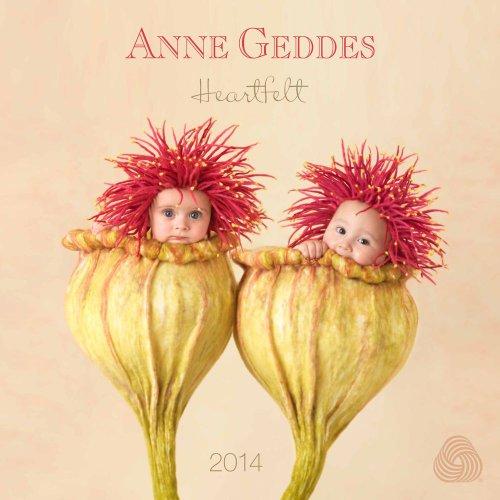 Anne Geddes 2014 Wall Calendar: Heartfelt