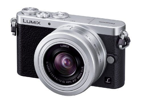 Panasonic デジタル一眼カメラ ルミックス GM1 レンズキット 標準ズームレンズ付属 シルバー DMC-GM1K-S