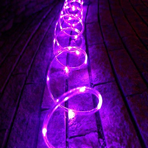 TINNZTES New 10feet 3M Solar Rope Tube 30 LED String Light Garden Light Inside/Outside for ...