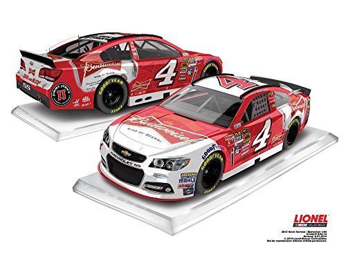 Lionel Racing CX45865BDKH Kevin Harvick #4 Budweiser 2015 Chevy SS 1:64 Scale ARC HT Official NASCAR Diecast Car - 1