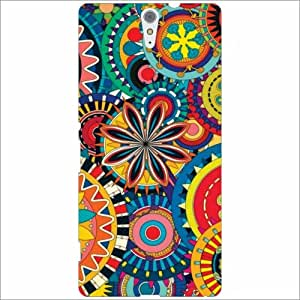 Sony Xperia C5 Ultra Back Cover - Silicon Mesmerizing Designer Cases