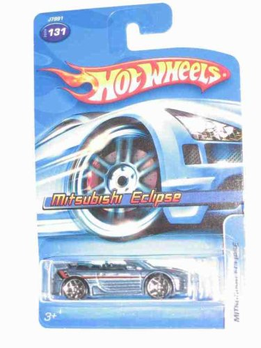 #2006-131 Mitsubishi Eclipse Collectible Collector Car Mattel Hot Wheels 1:64 Scale - 1