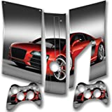 Cars 10103, Snuggle Edition, Sticker for XBOX 360 Slim Game Console.