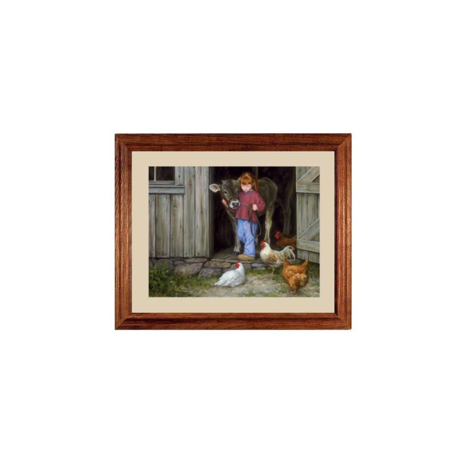 Best Of Friends Red Hair Girl Robert Duncan Art Picture