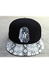 Last Kings Snake Skin Snapback V Snap Back Leopard(black)
