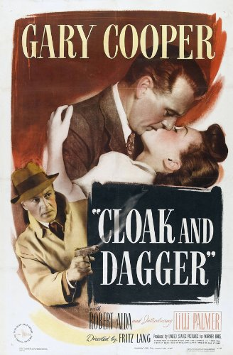 Cloak And Dagger Movie Poster 1946