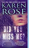 Did You Miss Me? (Romantic suspense Book 14)