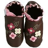 Robeez Soft Soles Wild Rose Slip On (Infant/Toddler/Little Kid)