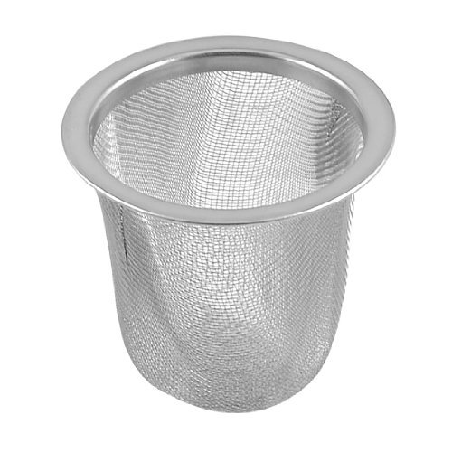 Water & Wood Stainless Steel 55Mmx50Mm Wire Mesh Round Filter Spice Tea Strainer Basket