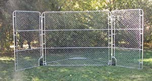 Portable Backstop with Side Panels by Olympia Sports