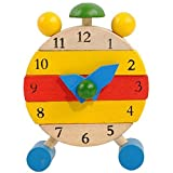Internet Handgefertigt aus Holz Uhr Spielzeug für Kinder Zeittaktgeber pädagogisches Spielzeug lernen thumbnail