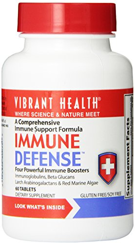 Vibrant Health Immune Defense, 60 Tablets,
